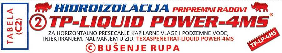 lIQUID POWER bušenje rupa